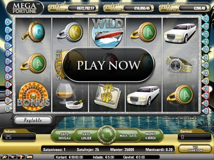 slots machines online mega fortune